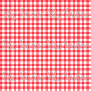 Gingham 10 Glitter Canvas, Regular Canvas, Faux Leather For Bows