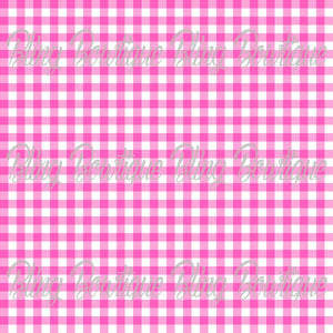 Gingham 12 Glitter Canvas, Regular Canvas, Faux Leather For Bows