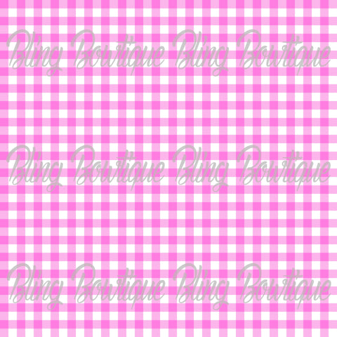 Gingham 13 Glitter Canvas, Regular Canvas, Faux Leather For Bows