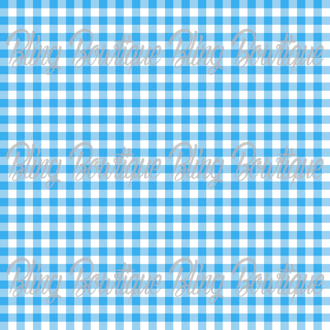 Gingham 15 Glitter Canvas, Regular Canvas, Faux Leather For Bows