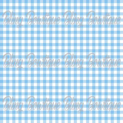 Gingham 16 Glitter Canvas, Regular Canvas, Faux Leather For Bows