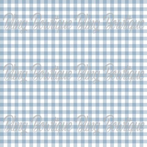 Gingham 17 Glitter Canvas, Regular Canvas, Faux Leather For Bows