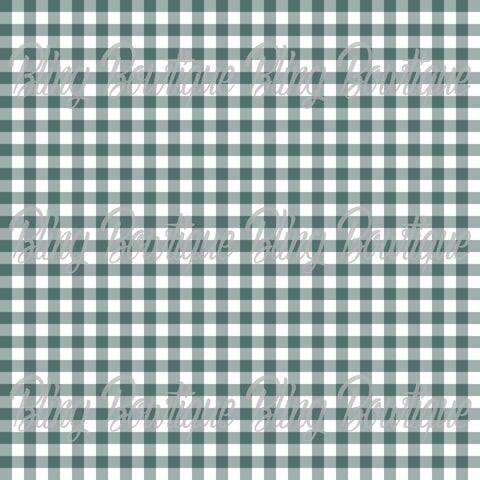 Gingham 18 Glitter Canvas, Regular Canvas, Faux Leather For Bows