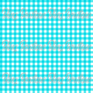 Gingham 2 Glitter Canvas, Regular Canvas, Faux Leather For Bows