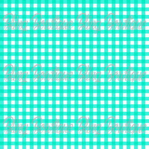 Gingham 3 Glitter Canvas, Regular Canvas, Faux Leather For Bows