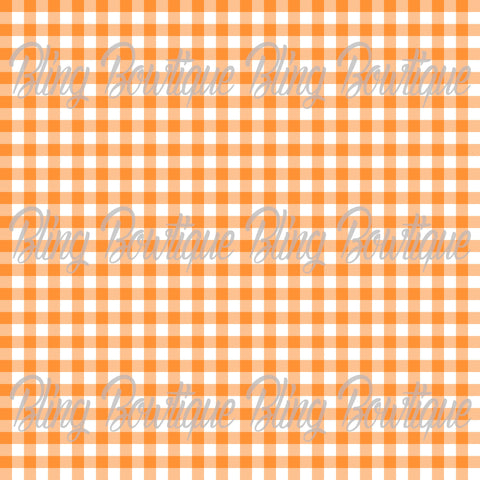 Gingham 9 Glitter Canvas, Regular Canvas, Faux Leather For Bows