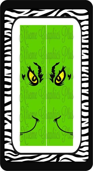 Grinch Sublimation Bow Strips