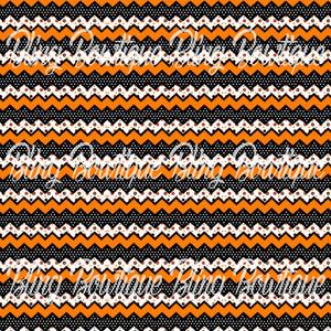 Halloween Set Chevron Printed Glitter Canvas, Regular Canvas, Faux Leather For Bows