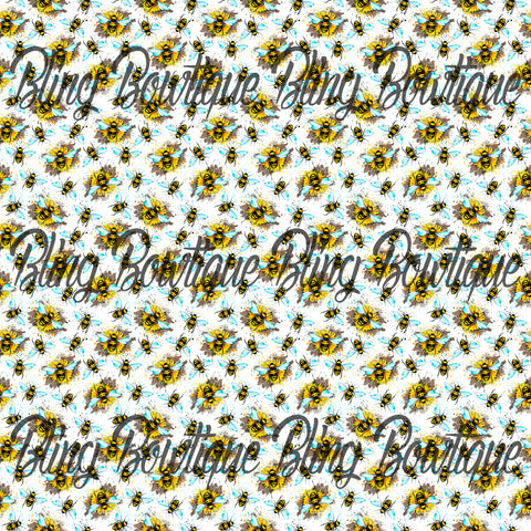 Honeybee 1 Glitter Canvas, Regular Canvas, Faux Leather For Bows