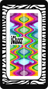 I Cheer Sublimation Bow Strips Download