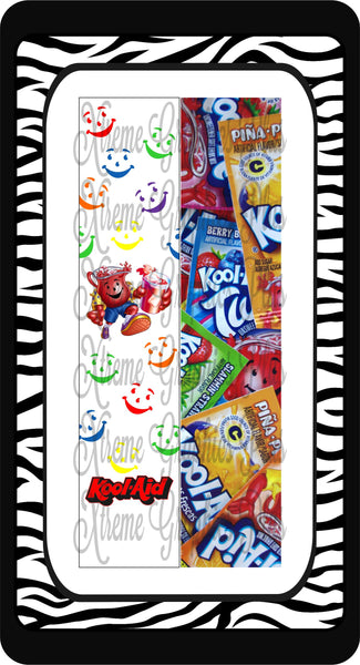 Kool-Aid Ready to Press Sublimation Bow Strips