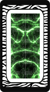Green Lightning Sublimation Bow Strips Download