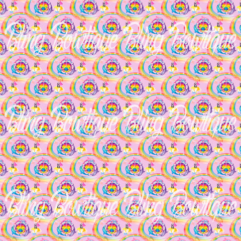 Lisa Frank Dolphins Glitter Canvas, Regular Canvas, Faux Leather For Bows