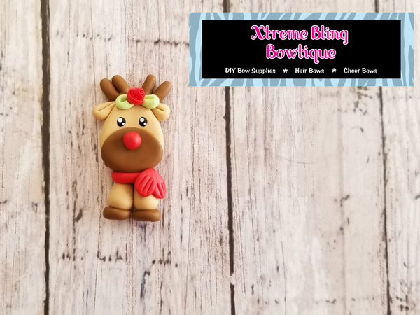 Reindeer with Scarf Clay (Includes 1 Clay)