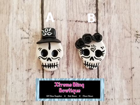 Boy/Girl Sugar Skulls Clay (Includes 1 Clay)
