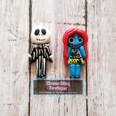 Jack/Sally from Nightmare Before Christmas Clay (Includes 1 Clay)