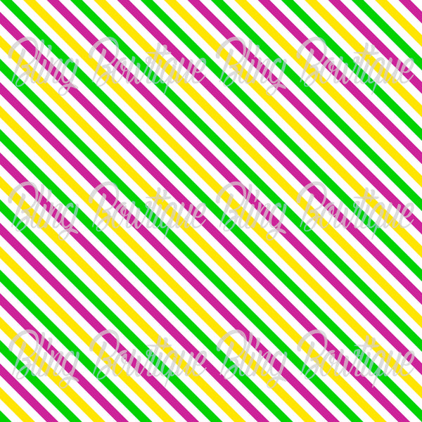 Mardi Gras 11 Glitter Canvas, Regular Canvas, Faux Leather For Bows