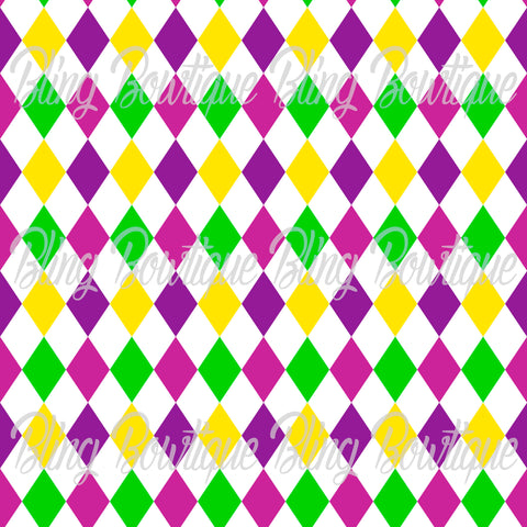 Mardi Gras 12 Glitter Canvas, Regular Canvas, Faux Leather For Bows