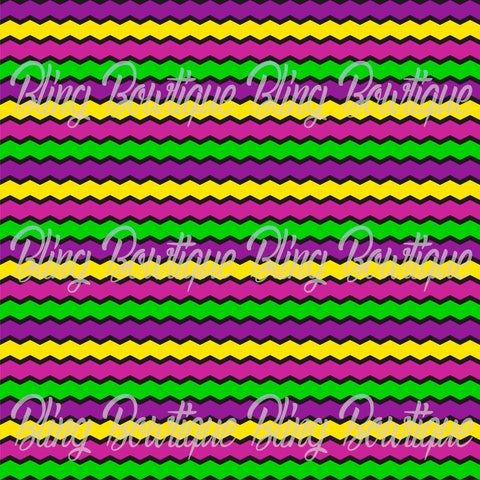Mardi Gras 1 Glitter Canvas, Regular Canvas, Faux Leather For Bows