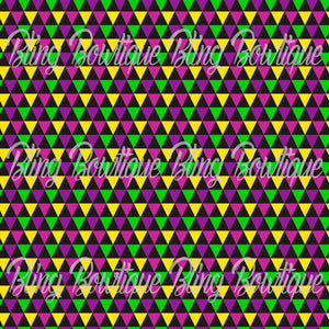 Mardi Gras 6 Glitter Canvas, Regular Canvas, Faux Leather For Bows