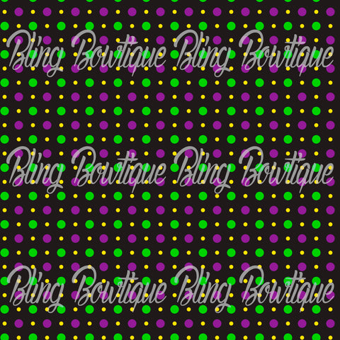 Mardi Gras 7 Glitter Canvas, Regular Canvas, Faux Leather For Bows