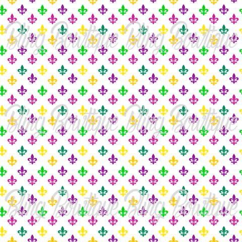 Mardi Gras 9 Glitter Canvas, Regular Canvas, Faux Leather For Bows