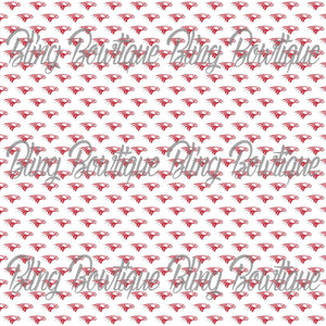 Nixa High School Eagles Glitter Canvas, Regular Canvas, Faux Leather For Bows
