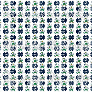 Notre Dame Fighting Irish Glitter Canvas, Regular Canvas, Faux Leather For Bows