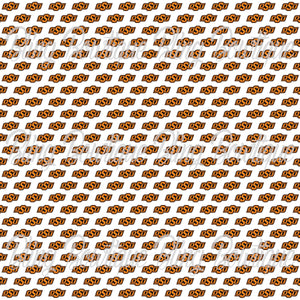 Oklahoma State Cowboys Glitter Canvas, Regular Canvas, Faux Leather For Bows