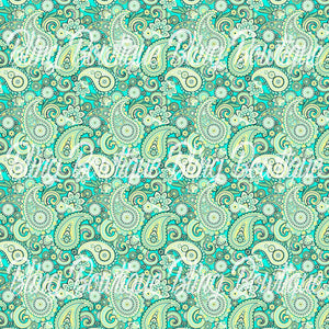 Paisley 12 Glitter Canvas, Regular Canvas, Faux Leather For Bows