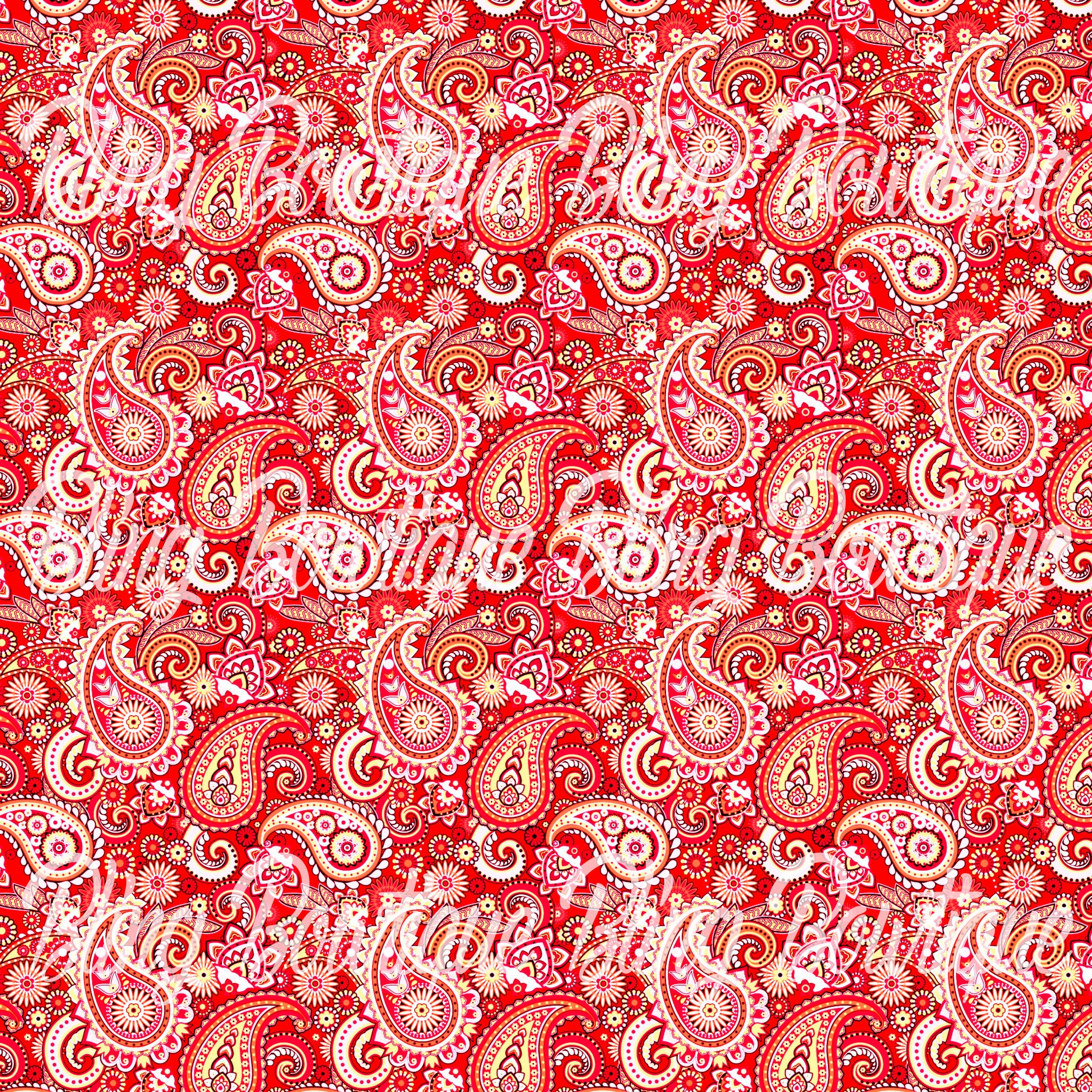 Paisley 22 Glitter Canvas, Regular Canvas, Faux Leather For Bows