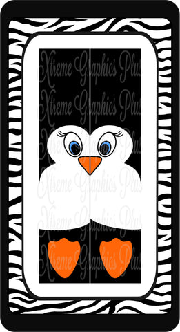 Penguin Sublimation Bow Strips