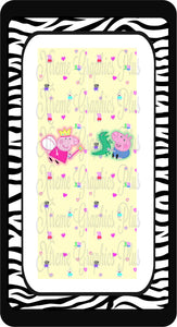 Peppa Pig Ready to Press Sublimation Bow Strips