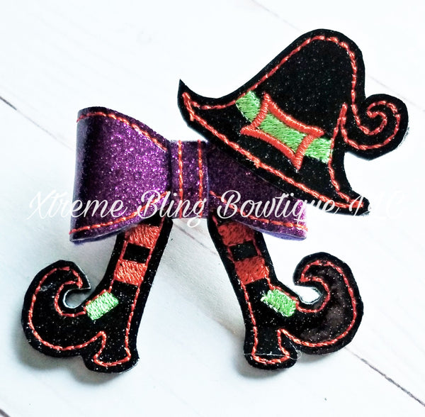 Halloween Witch Hair Bow