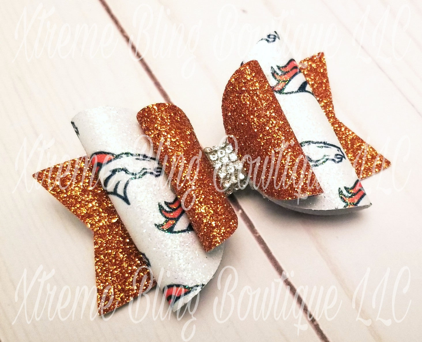 Denver Broncos Dolly Bow