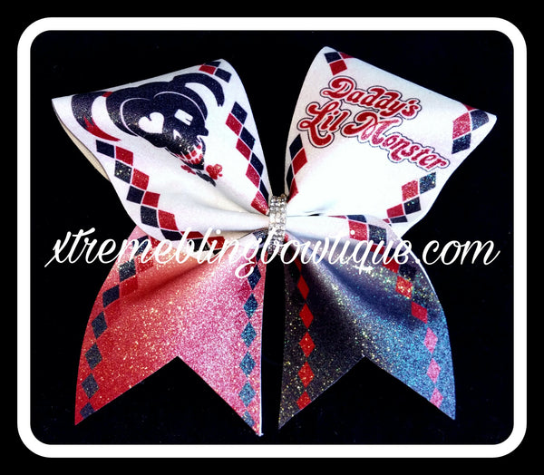 Harley Quinn Bowtique Bow Low Price Girls' Accessories Clothing, Shoes & Accessories