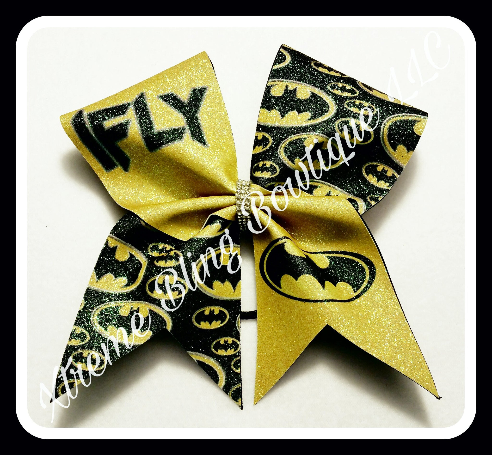 Cheer Bow --Batman I Fly
