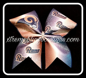 Cheer Bow --Los Angeles Rams