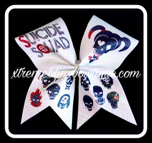 Cheer Bow --Suicide Squad 1