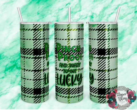 Pinch Proof Ready To Press Sublimation Print for 20oz Straight Skinny Tumbler or 20oz Tapered Skinny Tumbler