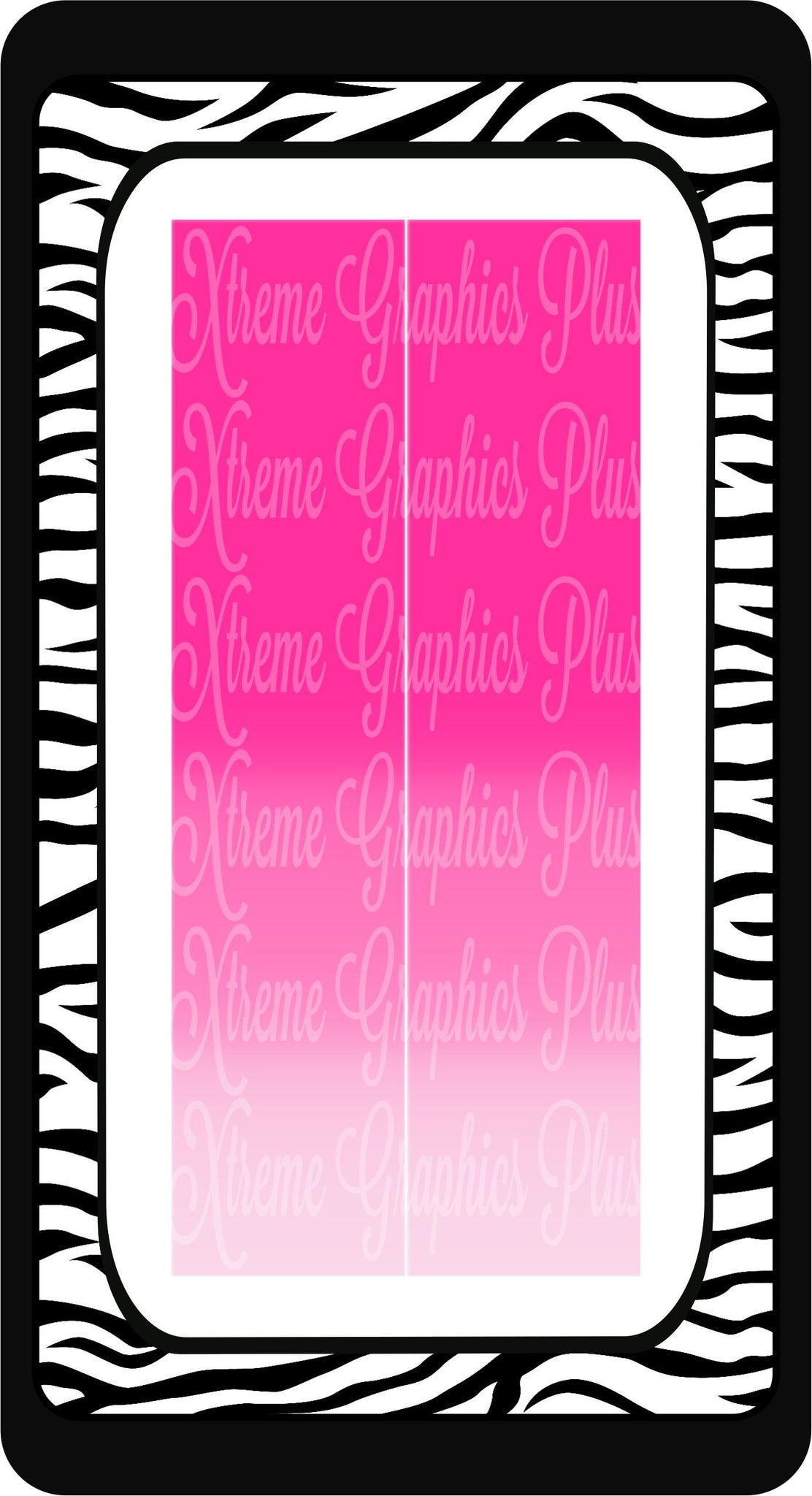 Pink To Light Pink Ombre Sublimation Bow Strips Download
