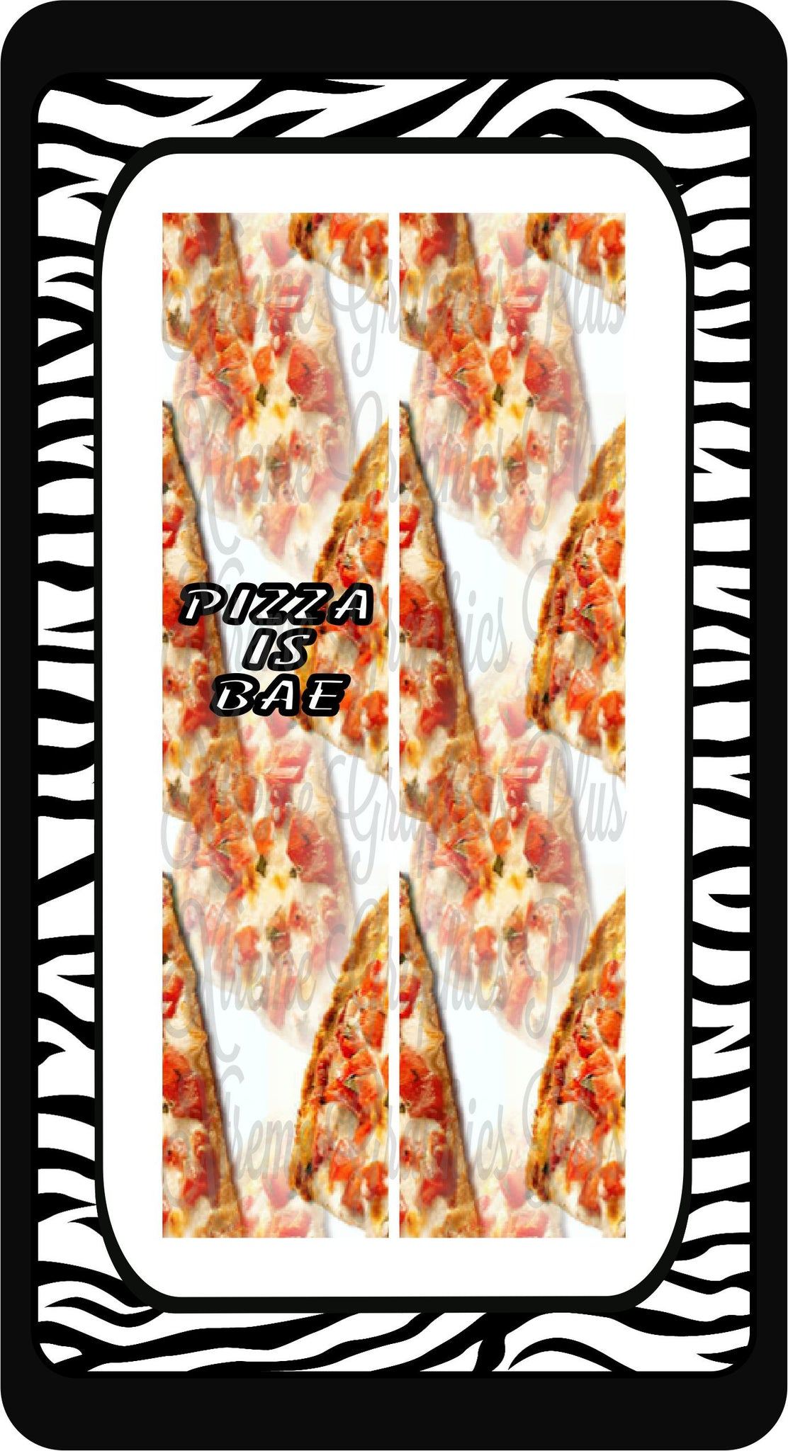 Pizza Is Bae Sublimation Bow Strips Download