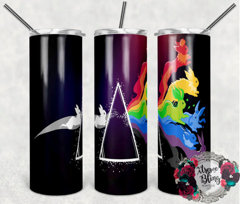 Pokemon Go 3 Ready To Press Sublimation Print for 20oz Straight Skinny Tumbler
