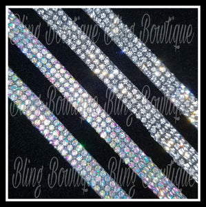 Rhinestone Bow Center Strips