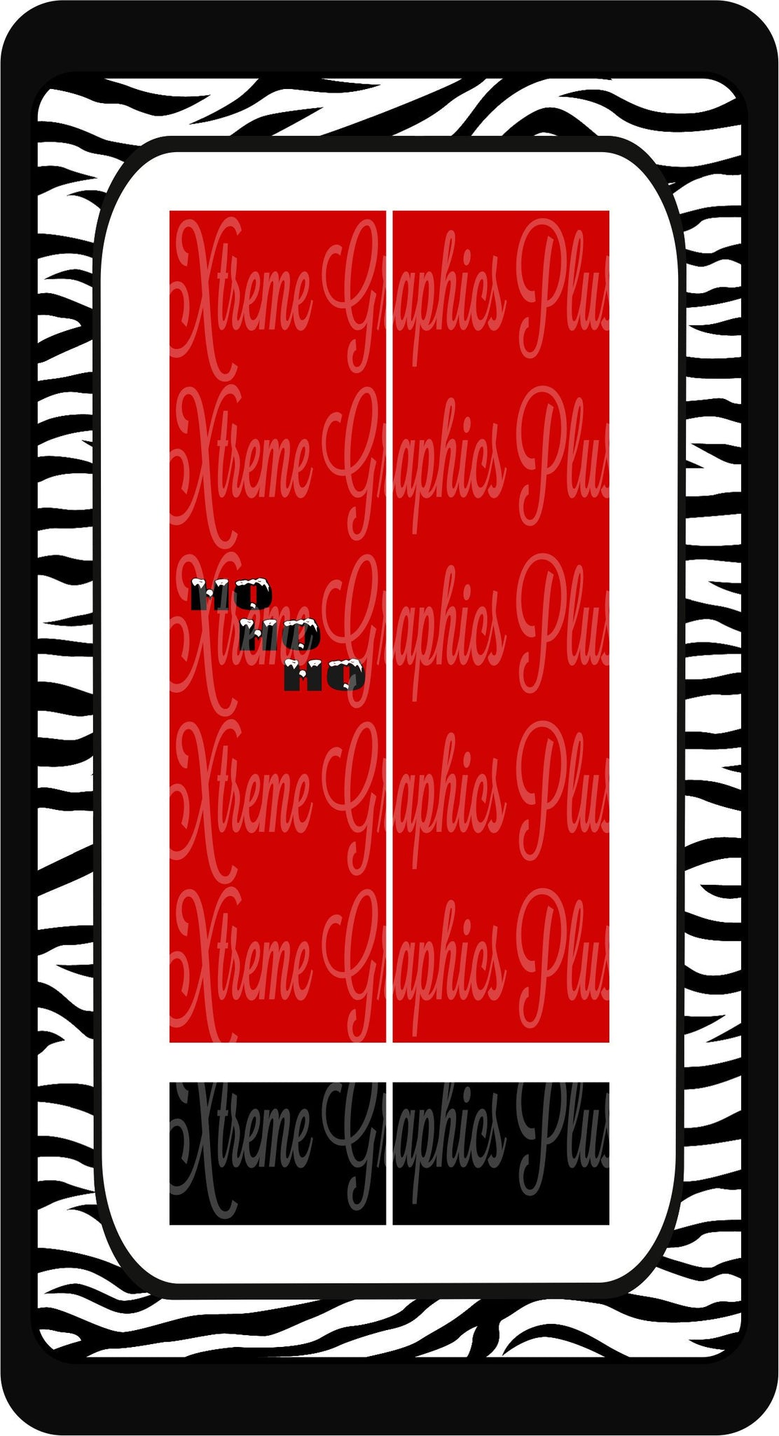 Santa HoHoHo Sublimation Bow Strips Download