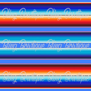 Serape 2 Glitter Canvas, Regular Canvas, Faux Leather For Bows