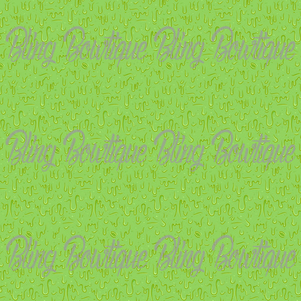 Slime Glitter Canvas, Regular Canvas, Faux Leather For Bows