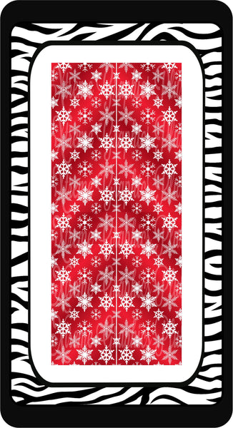 Snowflakes Sublimation Bow Strips Download