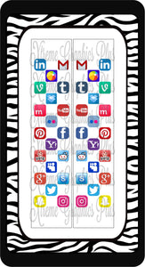 Social Media Ready to Press Sublimation Bow Strips