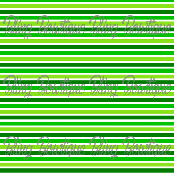 St Patrick's Day 6 Glitter Canvas, Regular Canvas, Faux Leather For Bows
